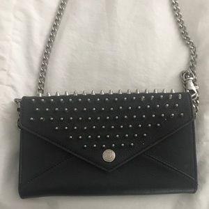 Rebecca Minkoff Crossbody Silver Spiked Bag